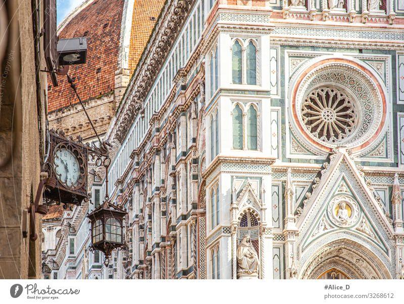 Duomo Santa Maria del Fiore Florenz Ferien & Urlaub & Reisen Tourismus Sightseeing Städtereise Kunst Architektur Kultur Italien Europa Stadt Hauptstadt Kirche