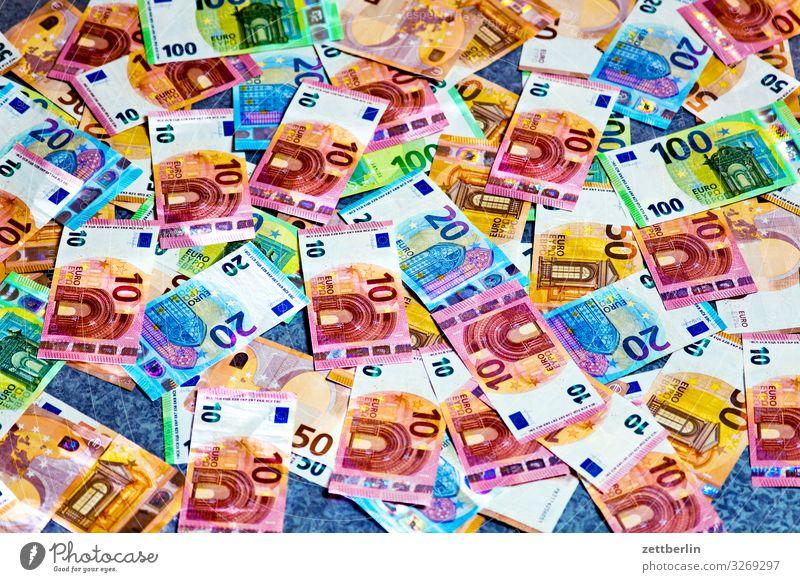 Papiergeld Hintergrundbild Geld Geldinstitut Reichtum bezahlen Geldscheine Euro Kapitalwirtschaft Eurozeichen Wert Lenkrad Einkommen Besitz Bargeld