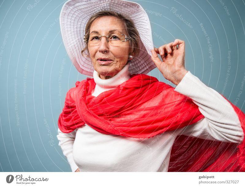 08. März - Internationaler Frauenkampftag Mensch blau alt schön rot Erwachsene Leben Senior feminin Zeit Familie & Verwandtschaft Kraft Lifestyle frei