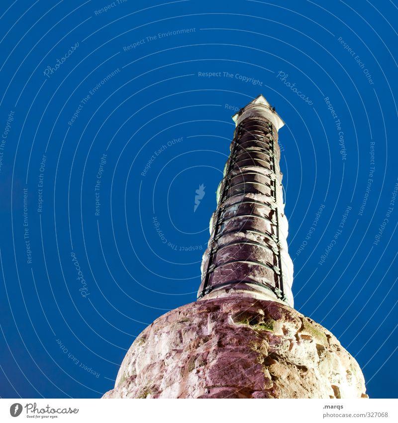 Piekst | Massiv Ferien & Urlaub & Reisen Architektur hoch groß Spitze Kultur Zeichen historisch Bauwerk Wolkenloser Himmel Denkmal Sehenswürdigkeit Städtereise