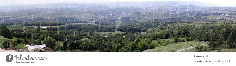 Iasi, Rumänien Panorama (Aussicht) Baum Landschaft Natur Himmel rumania groß Panorama (Bildformat)