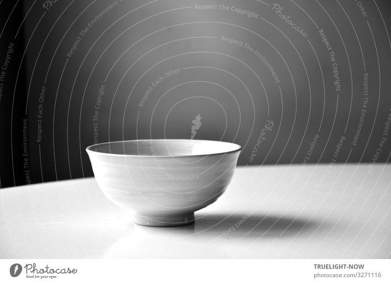 Die Stille und die Leere Ernährung Getränk Geschirr Schalen & Schüsseln Lifestyle elegant Design Wellness harmonisch Zufriedenheit Erholung ruhig Meditation