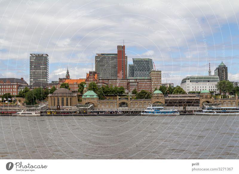 around Port of Hamburg Tourismus Wasser Küste Bach Fluss Stadt Hafenstadt Bauwerk Gebäude Architektur Verkehr Wasserfahrzeug Hamburger Hafen seehafen Elbe