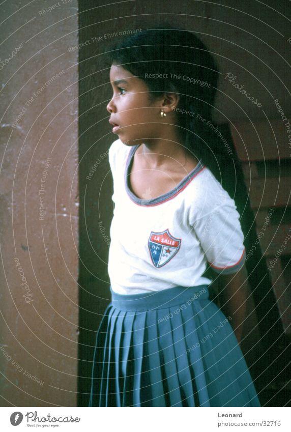 Blick Kind Mädchen Sonne Schule Student Panama