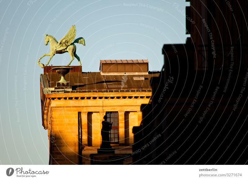 Pegasus Architektur Berlin Büro Großstadt Deutschland Gendarmenmarkt Hauptstadt Haus Himmel Himmel (Jenseits) Stadtzentrum Berlin-Mitte pegasus Skyline