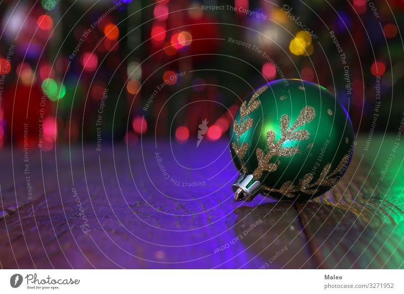 Weihnachtskugel Weihnachten & Advent Hintergrundbild Kugel schön Unschärfe Feste & Feiern Nahaufnahme Kristalle Dezember Dekoration & Verzierung Design