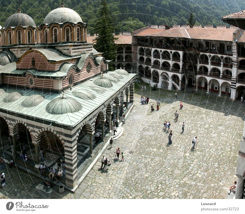 Rila Kloster, Bulgaria Religion & Glaube Bauwerk Kultur Kunst Mensch Tourist Gotteshäuser bulgaria church temple monastery monastic monk cloister Architektur