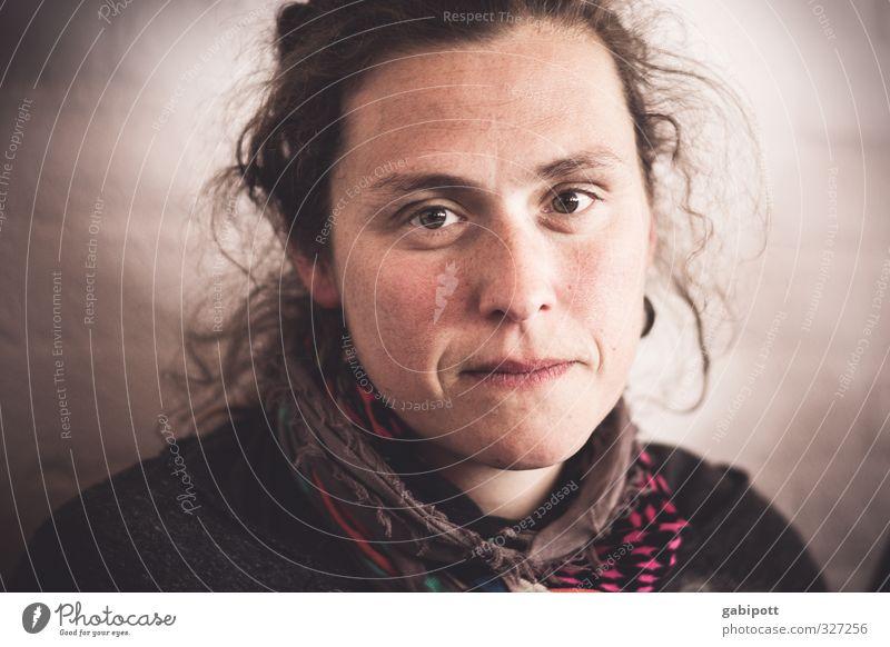 rømø - Schlusslichtermulti Mensch Frau Jugendliche schön Junge Frau Ferne Erwachsene Leben Gefühle feminin natürlich braun Zufriedenheit authentisch Perspektive