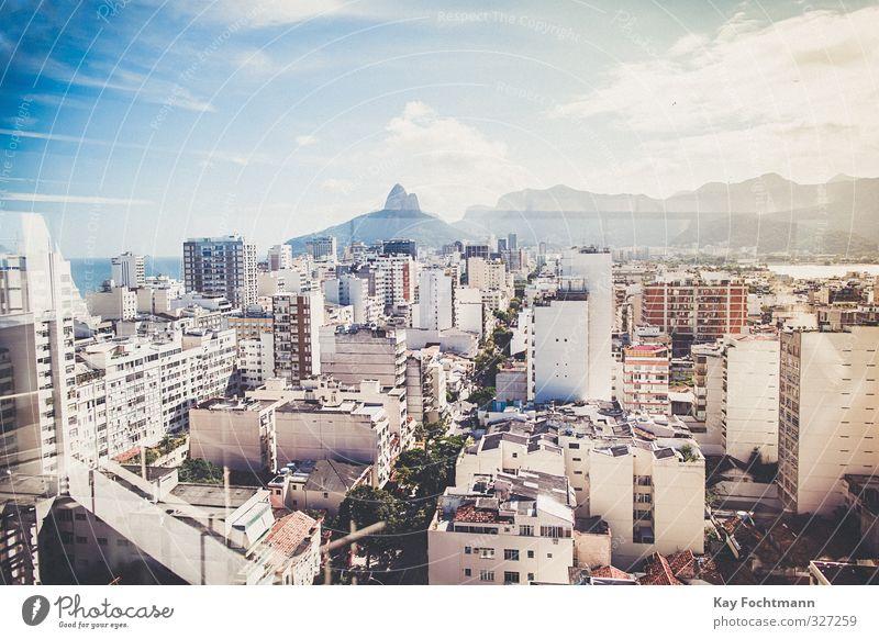 ° Ferien & Urlaub & Reisen Tourismus Abenteuer Ferne Freiheit Sightseeing Städtereise Sommer Sommerurlaub Rio de Janeiro Brasilien Südamerika Stadt Stadtzentrum