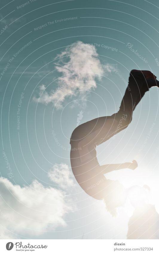 rømø | learning to fly pt.2 Freizeit & Hobby Trampolin Mensch maskulin feminin Junge Frau Jugendliche Junger Mann 18-30 Jahre Erwachsene Umwelt Luft Himmel