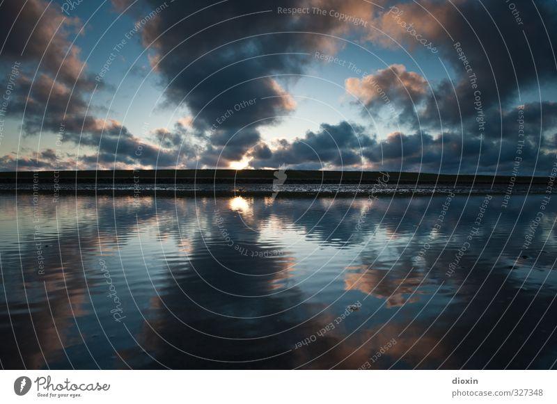 rømø | when the music´s over... Ferien & Urlaub & Reisen Tourismus Ferne Freiheit Umwelt Natur Landschaft Wasser Himmel Wolken Sonnenaufgang Sonnenuntergang
