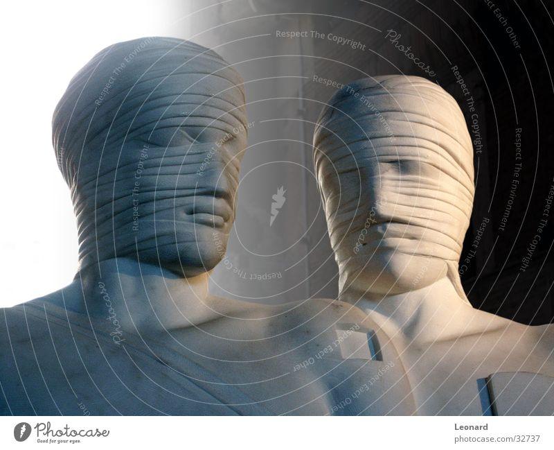 Skulptur 8 Mensch Mann Gesicht Stein Gebäude Kunst Statue Handwerk historisch Skulptur Rom Ausstellung Schädel Bildhauerei