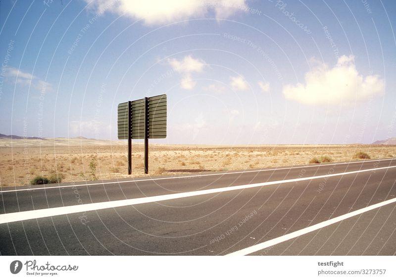 karges land Himmel Natur Landschaft Wolken Tier Einsamkeit Straße Umwelt Sand Erde Schönes Wetter Sehnsucht Wegweiser Verkehrsschild
