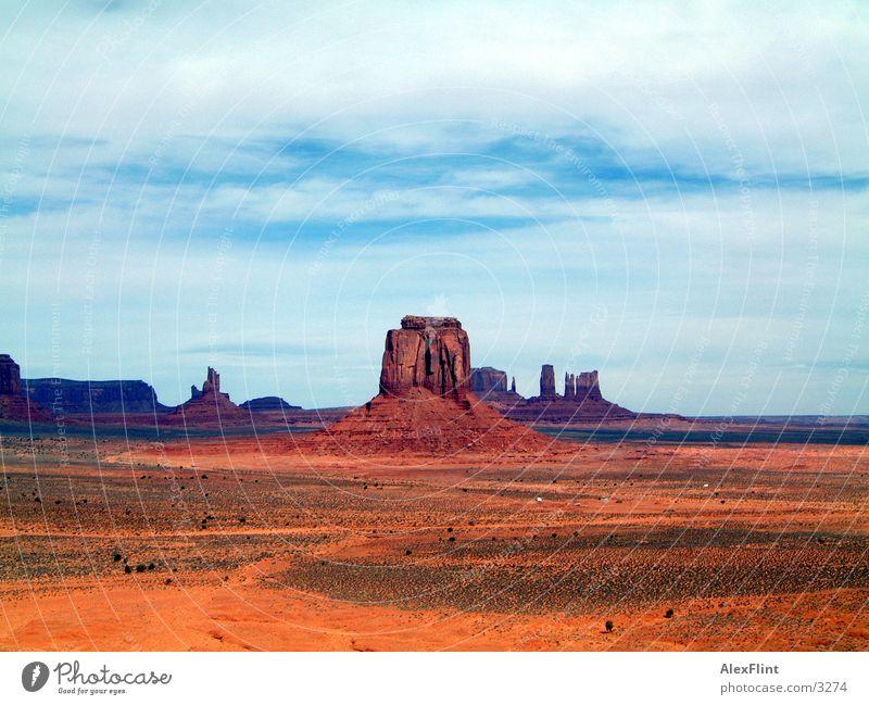 weit und breit Amerika landschft kanyon
