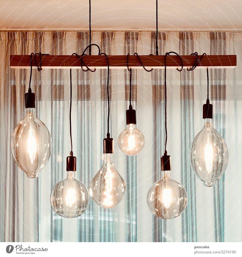 zierbirnen Fenster Lampe hell modern Energiewirtschaft Glas Kabel Glühbirne Vorhang Leuchtdiode Lampenlicht Deckenlampe Hängelampe
