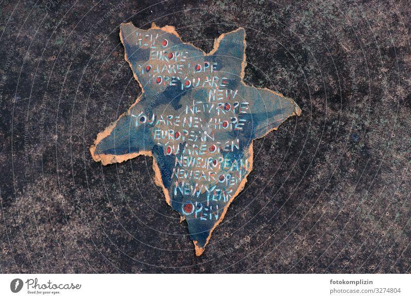 europa stern Erfolg Kunst Kunstwerk Zeichen Netzwerk Stern (Symbol) Zusammensein Unendlichkeit historisch Sicherheit Menschlichkeit Solidarität Verantwortung