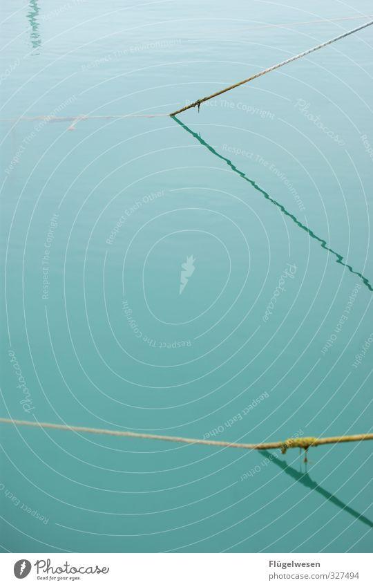 liniert Wellen Küste Seeufer Flussufer Strand Bucht Fjord Riff Nordsee Ostsee Meer Teich Bach Schwimmen & Baden Schatten Linie Seil Wasser