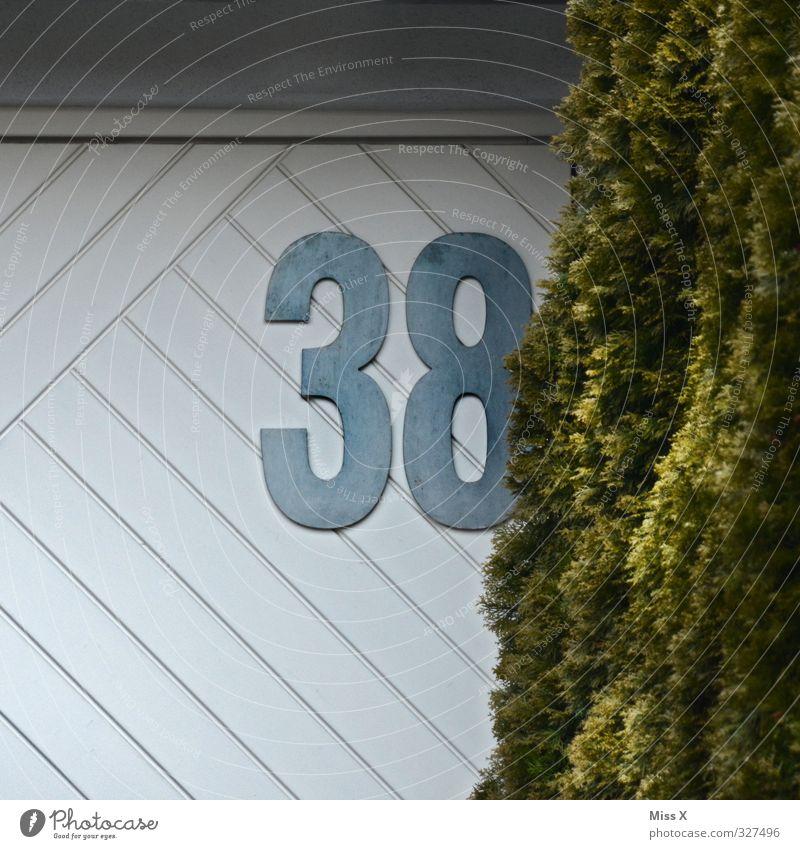 38 Erwachsene Wand Mauer 3 Ziffern & Zahlen 8 30-45 Jahre Hausnummer