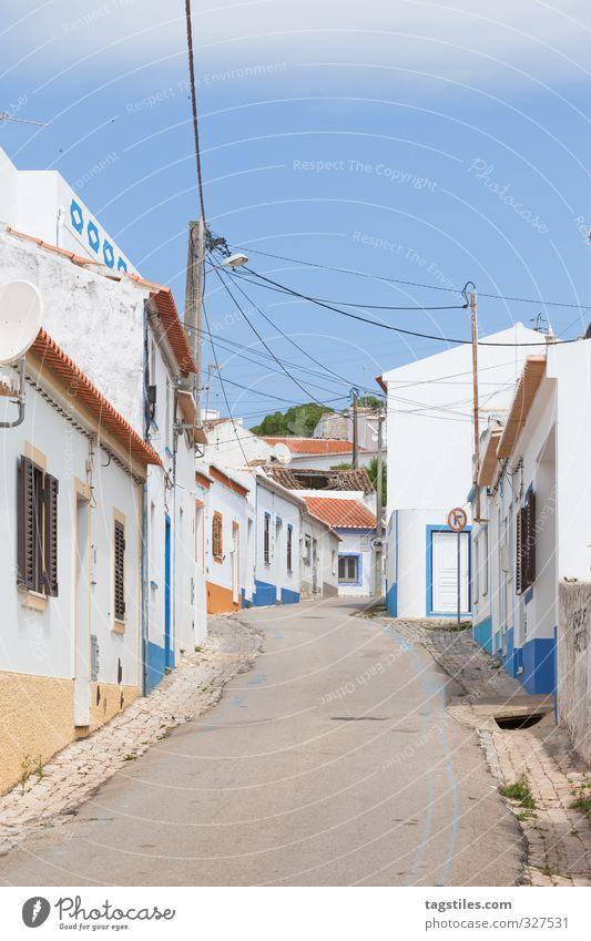 TIME SHIFT Portugal Algarve Raposeira Stadt Kleinstadt Haus Straße Ferien & Urlaub & Reisen Reisefotografie Idylle Postkarte Tourismus Paradies himmlisch