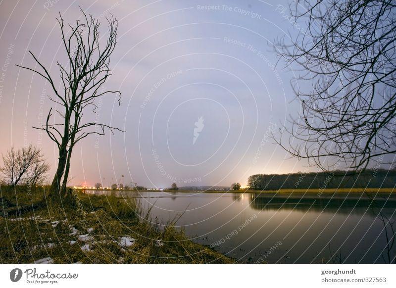 deutsch-polnische Flüssigkeit I Himmel Natur Ferien & Urlaub & Reisen blau Baum Erholung Landschaft ruhig Wolken Winter Ferne Umwelt Herbst Frühling Freiheit