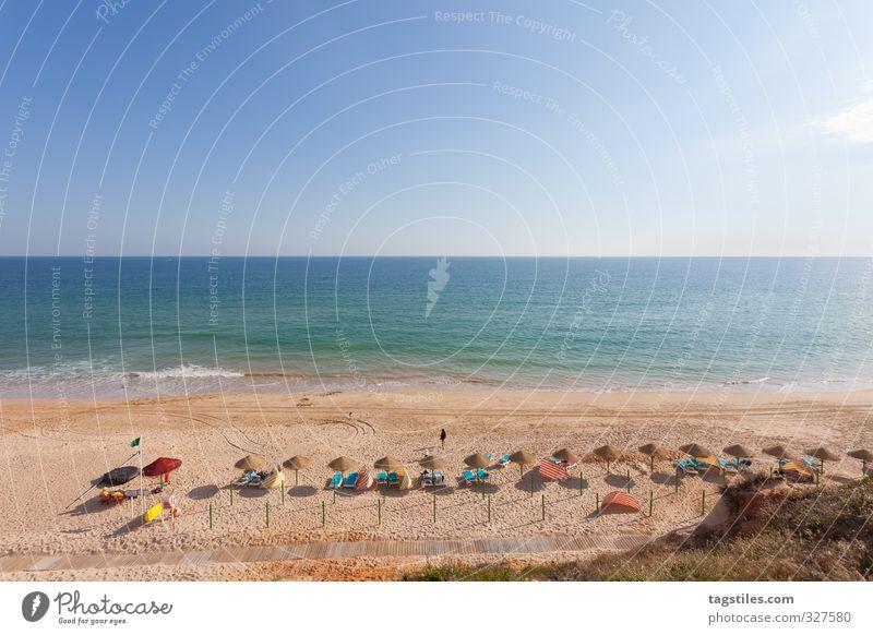 PRAIA DA FALESIA Ferien & Urlaub & Reisen Meer Landschaft ruhig Erholung Strand Freiheit Küste Reisefotografie Freizeit & Hobby Idylle Tourismus Bucht Postkarte