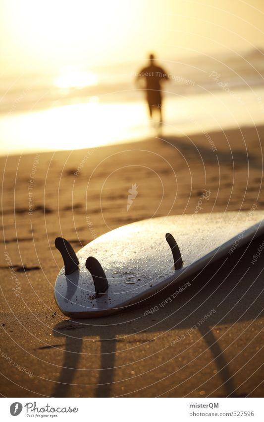 Back to Board. Ferien & Urlaub & Reisen Freude Strand Erotik Freiheit Sand Stil Kunst Freizeit & Hobby elegant Zufriedenheit Lifestyle ästhetisch Fitness
