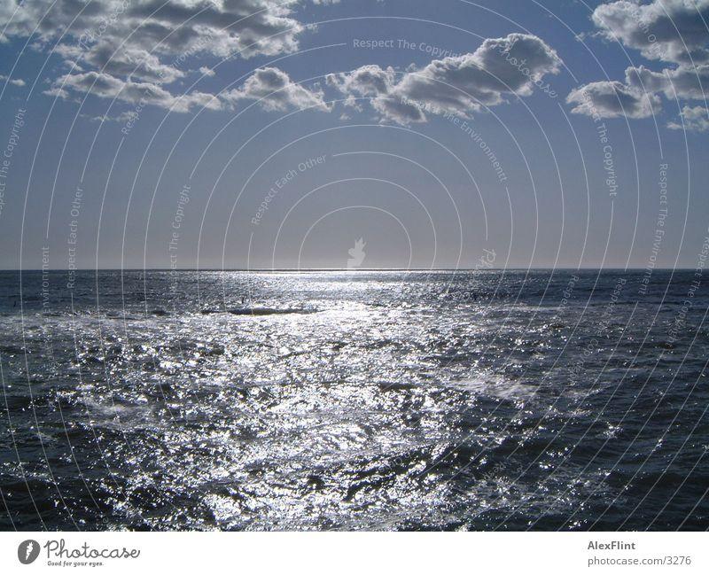 meeresblick Meer Wasser Sonne