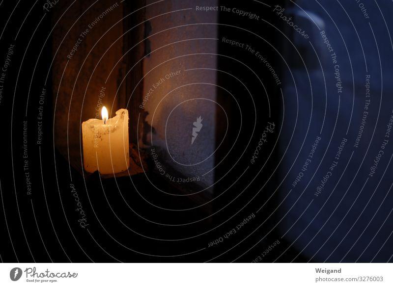Advent Sinnesorgane Rauch leuchten authentisch gelb Leidenschaft Akzeptanz Vertrauen Traurigkeit Sorge Trauer Tod Gebet Weihnachten & Advent Kerze Flamme Licht