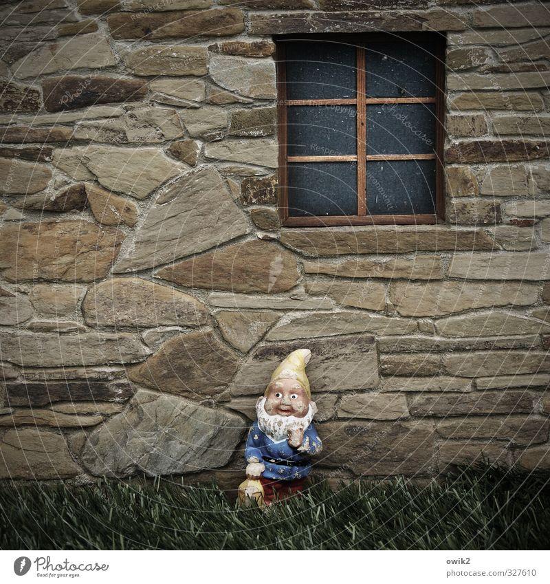 Stilles Glück Erholung ruhig Haus Freude Fenster Wand Gebäude Gesundheit Mauer klein Fassade Wohnung Zufriedenheit Häusliches Leben Freizeit & Hobby