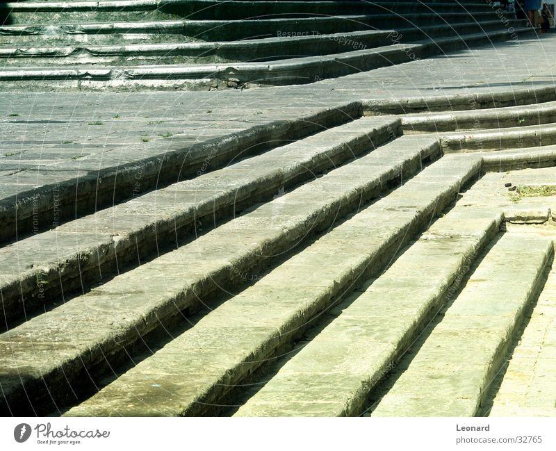 Schritte Sonne Architektur Stein Treppe Leiter Kathedrale glühen schreiten