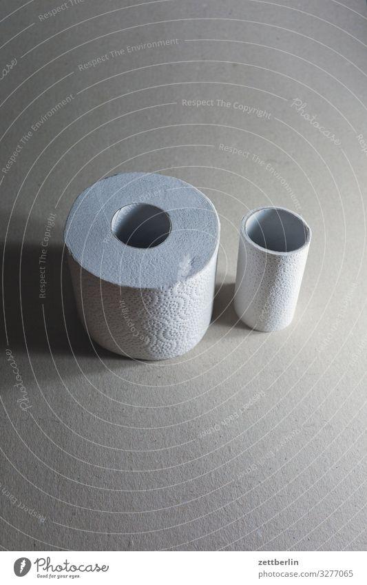 Dick und dünn klein leer groß Papier Sauberkeit dick Körperpflege Toilette Generation Verschiedenheit voll Miettoilette Rolle Gegenteil