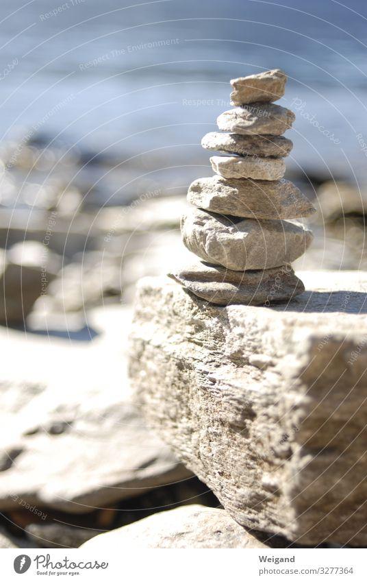 Meditation Sommer Felsen Alpen See fest natürlich Akzeptanz Vertrauen Schutz Geborgenheit Einigkeit Neugier Interesse Hoffnung Glaube demütig Zusammenhalt Team