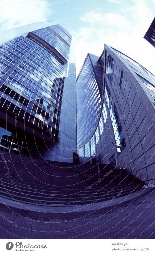 hoch hinaus Architektur Hochhaus Bankgebäude