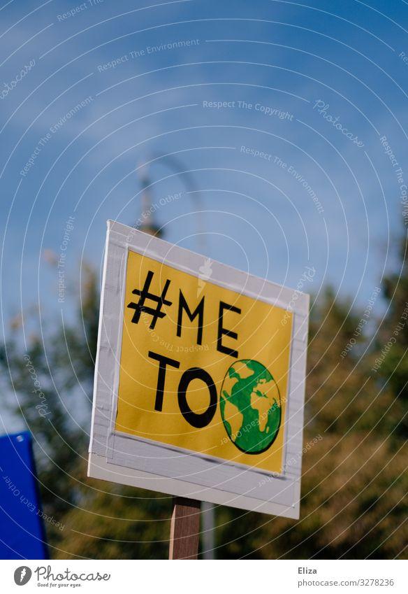 Arme Erde II Klimawandel Zeichen Schriftzeichen Schilder & Markierungen protestieren Umweltverschmutzung Umweltschutz fff fridays for future Demonstration
