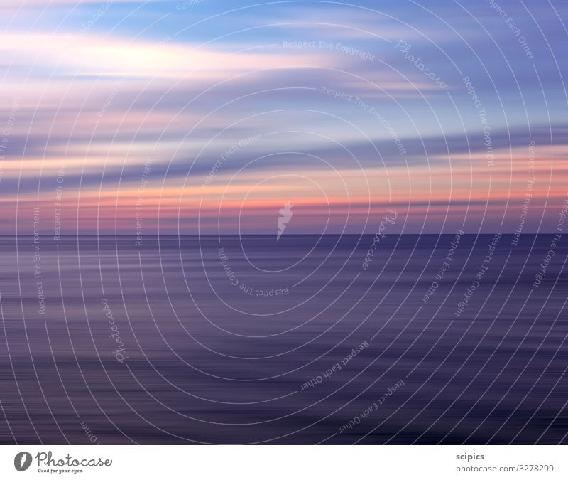 das Meer Lifestyle Gesundheit Wellness harmonisch Wohlgefühl Zufriedenheit Erholung ruhig Landschaft Wasser Himmel Horizont Sonnenaufgang Sonnenuntergang