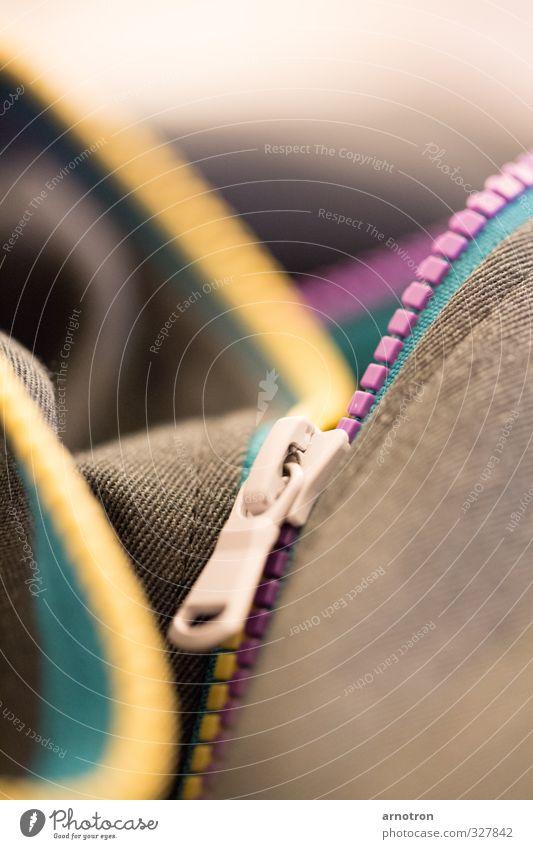 zip it up the rainbow ruhig schwarz Berge u. Gebirge gelb Wärme Stil Lifestyle Mode wandern genießen Bekleidung Warmherzigkeit Abenteuer Hügel violett Stoff