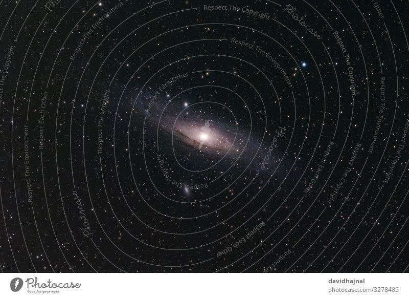 Andromedagalaxie Teleskop Technik & Technologie Wissenschaften Raumfahrt Astronomie Kunst Umwelt Natur Himmel nur Himmel Wolkenloser Himmel Nachthimmel Stern