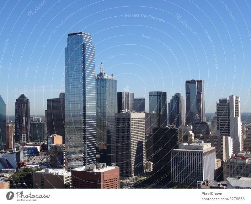 Dallas Lifestyle kaufen Reichtum Stil Ferien & Urlaub & Reisen Tourismus Sightseeing Städtereise Stadt Haus Hochhaus Bauwerk Gebäude Architektur