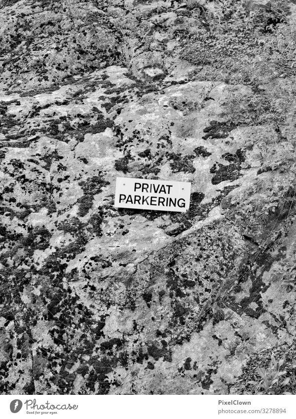 Freier Parkplatz Ferien & Urlaub & Reisen Natur Stadt Lifestyle Umwelt Stil Tourismus Stein grau Stimmung Ausflug Design PKW Verkehr exotisch Stadtrand