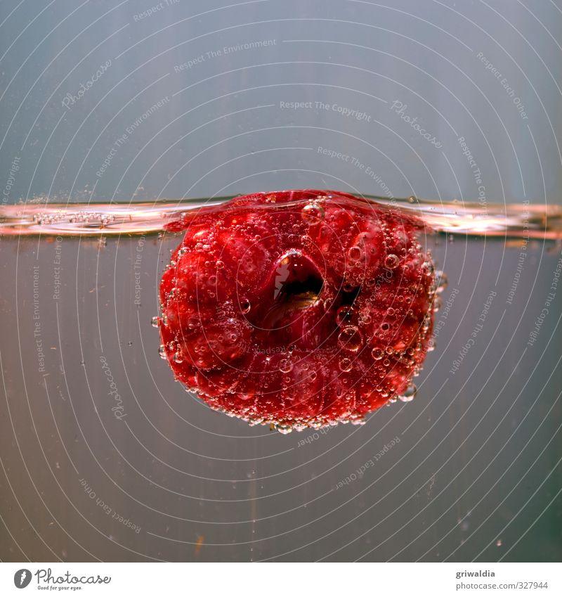 himbeerig Lebensmittel Frucht Himbeere Glas Pflanze Beeren Beerenfruchtstand essbar Sommer Rosengewächse rot Geschmackssinn Wasser Duft Gesundheit saftig süß