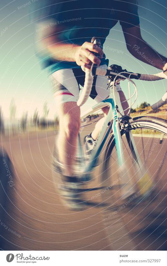 The Crux Mensch Jugendliche Freude Erwachsene Straße 18-30 Jahre Sport Bewegung Beine Körper maskulin Freizeit & Hobby Fahrrad Geschwindigkeit Ausflug Kraft
