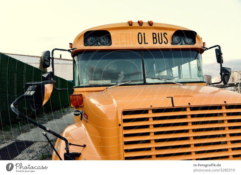 The ol' Bus was a School Bus Kindererziehung Bildung Schule Schulweg Jugendkultur Subkultur USA Verkehr Verkehrsmittel Öffentlicher Personennahverkehr