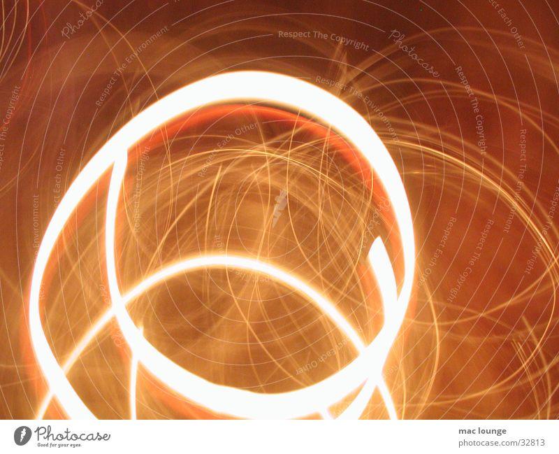 Lichtkreis Langzeitbelichtung Kreis abstrakt Lichtzeichnung Lichtmalerei