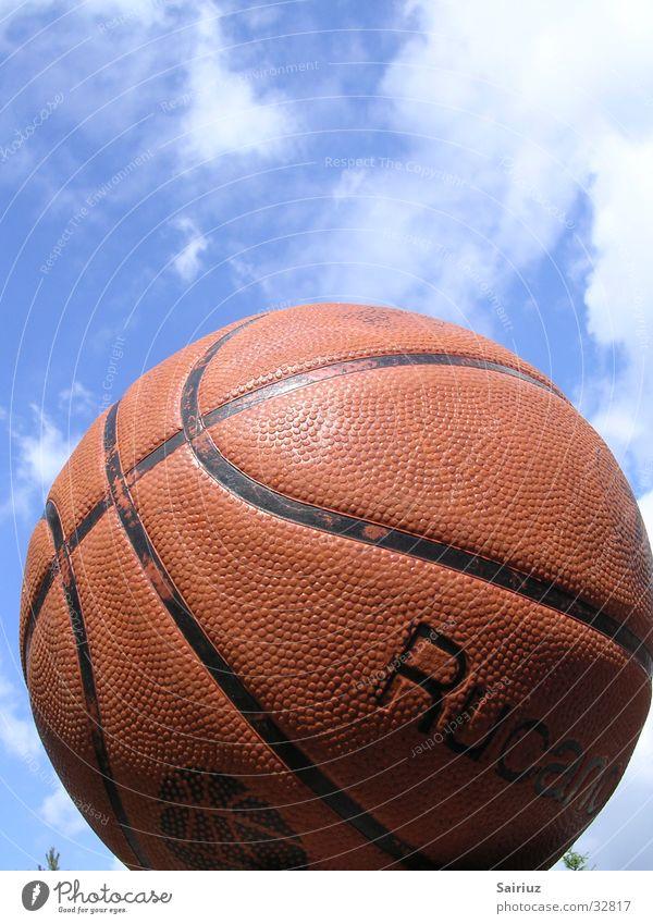play in heaven Himmel Wolken Sport Ball Basketball himmelwärts
