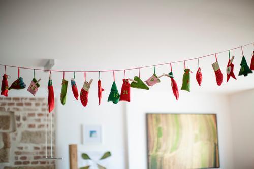 Kinder Adventskalender Lifestyle Reichtum Häusliches Leben Wohnung Feste & Feiern Weihnachten & Advent Kleinkind Geschwister Bruder Schwester