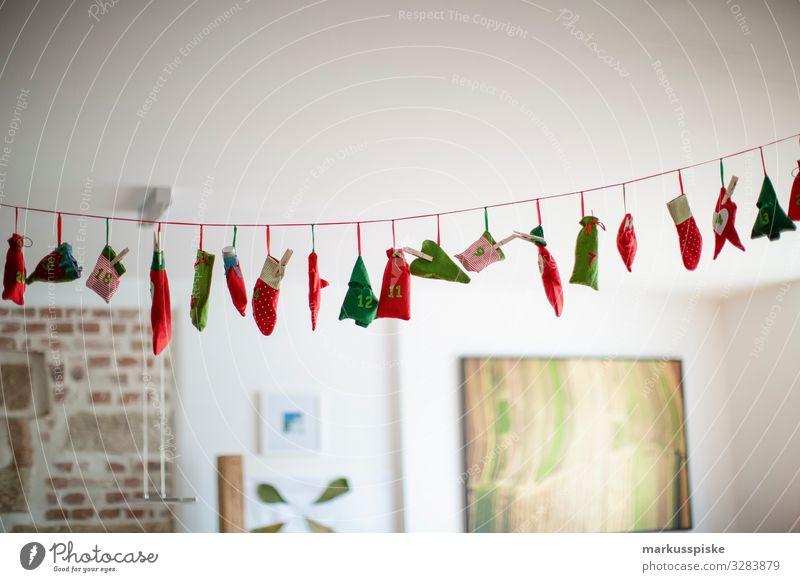 Kinder Adventskalender Weihnachten & Advent Lifestyle Familie & Verwandtschaft Glück Feste & Feiern Häusliches Leben Wohnung träumen Kindheit authentisch
