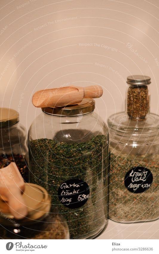 Ohne Kräuter & Gewürze Umwelt Umweltschutz Salz Supermarkt füllen Vorratsbehälter verpackungsfrei unverpackt ohne no waste Glas Glasbehälter kaufen Bioprodukte