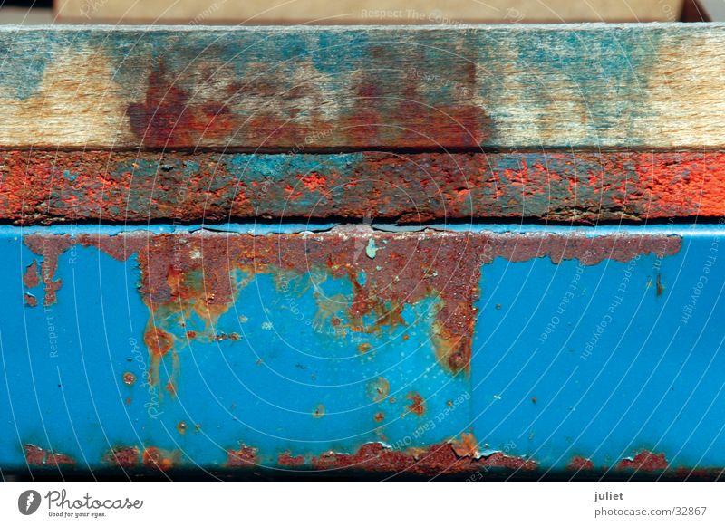 rostschicht Farbe Rost Oberfläche Container Fototechnik Patina
