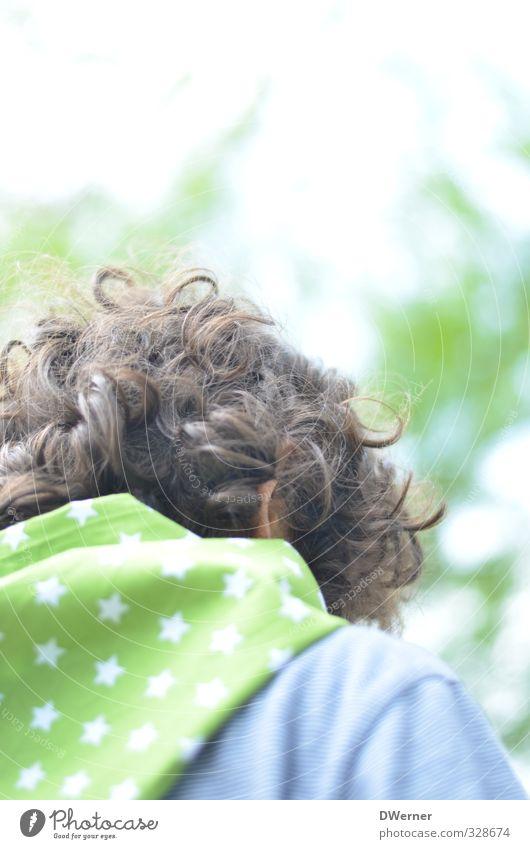 Sommeranfang Stil Design Freizeit & Hobby Ferien & Urlaub & Reisen Tourismus Kindererziehung Bildung Kindergarten Schulkind Friseur Junge Kopf Haare & Frisuren