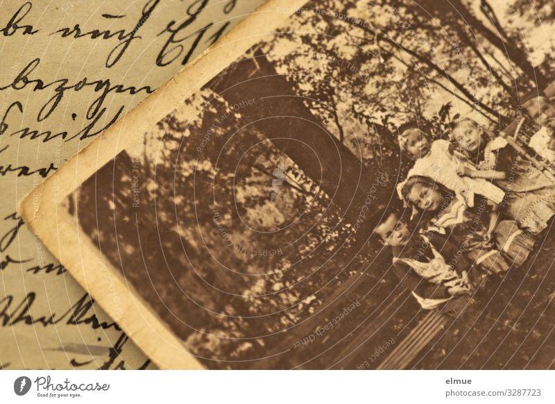 Urgroßmutters Zeiten Freizeit & Hobby Zettel Fotografie Papierbild analog Tagebuch Sütterlinschrift alt authentisch historisch retro Gefühle Trauer Sehnsucht